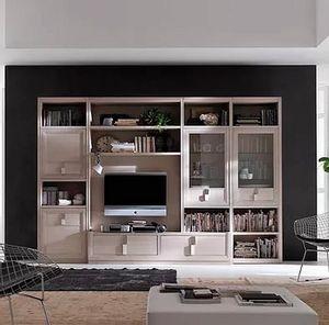Tea comp. M, Mobiliario modular para salón