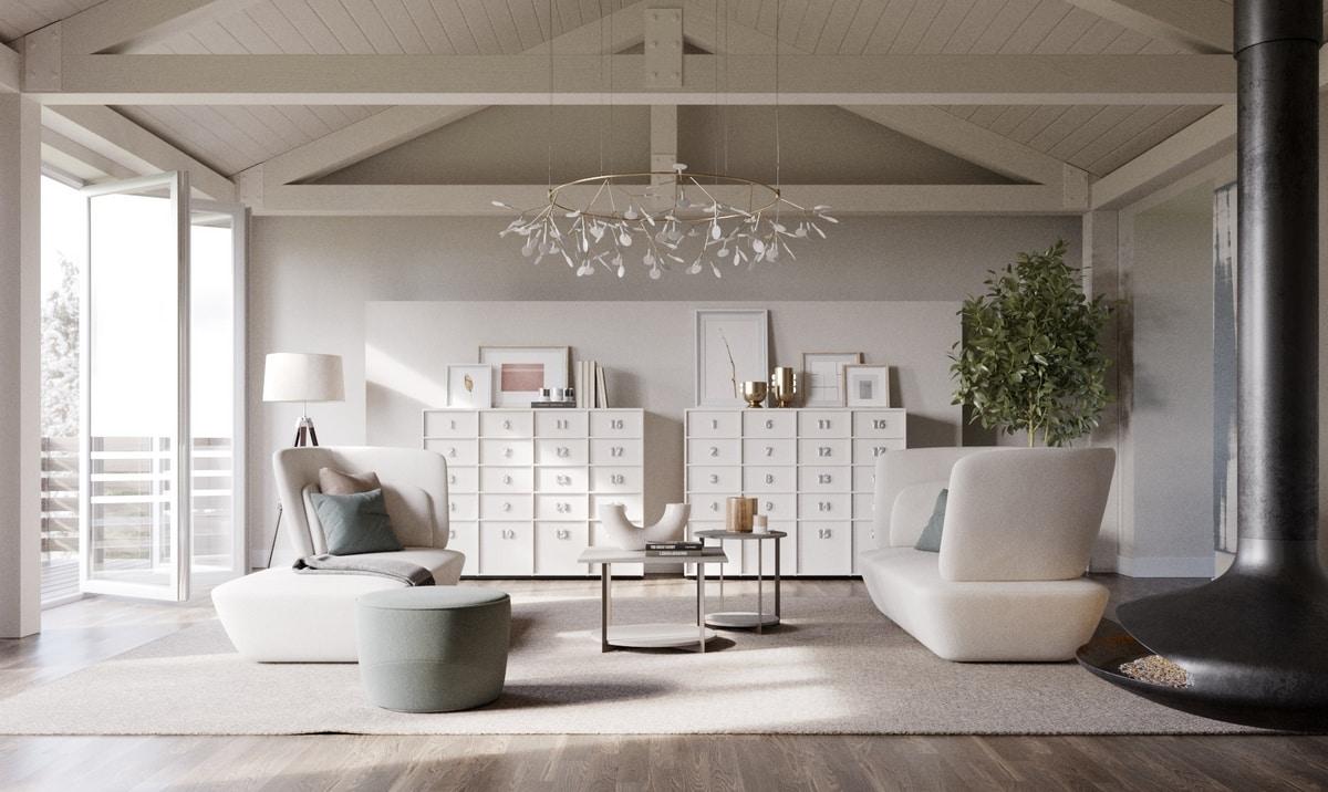 TOOLBOX comp.01, Muebles de la sala de estar, unidades de almacenamiento con cajones