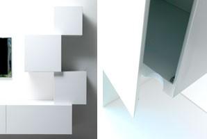 Trealcubo comp.01, Sistema modular para muebles