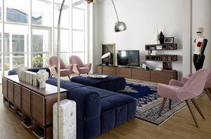 Wallis W001G, Muebles modulares para sala de estar