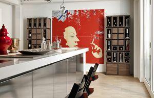 Wallis W008G, Muebles modulares para la sala de estar
