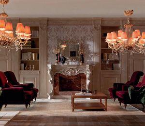 Canova boiserie, Boiserie equipado para sala de estar