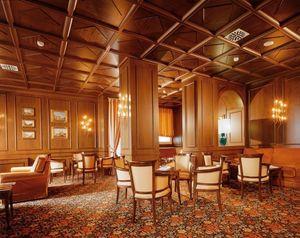 falsos techos, Techo típica en madera ideal para hoteles de lujo