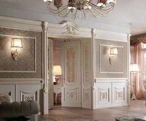 Luigi XVI boiserie, Boiserie de lujo en estilo Louis VXI