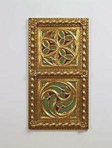 PANEL DECORATIVO / TECHO  ART. AC 0009, Panel decorativo de oro, de estilo clásico