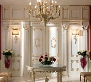Trianon boiserie, Decoración de pared de estilo clásico en madera