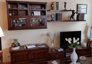 I Ciliegi Le Fablier, Mueble de pared clásico para sala, precio outlet.