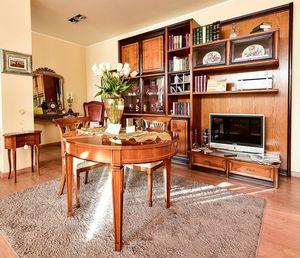 Unidad de pared sala de estar, Pared modular para sala de estar.