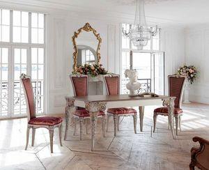 Mesa rectangulares extensiblesy sillas, Mesa y sillas de comedor outlet