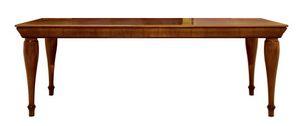 Tretyakov CH.0101, Mesa de salida, en madera de nogal, extensible