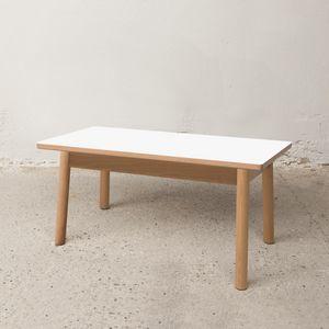 Mesa baja 75x40 cm, Mesa de centro de salida en madera
