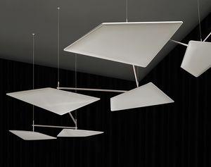 Flap Chain, Sistema de suspensión de techo para paneles fonoabsorbentes