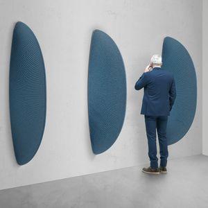 Pinna, Escultura de absorción de sonido en forma de aleta.