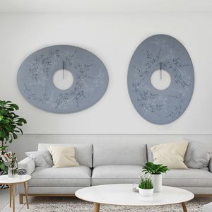 Snowsound Art, Paneles decorativos que absorben el sonido.