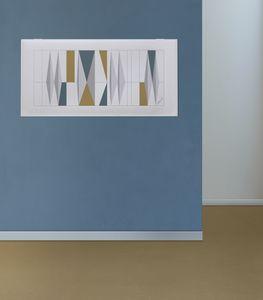 Snowsound art - Gio Ponti, Paneles fonoabsorbentes con dibujos de Gio Ponti