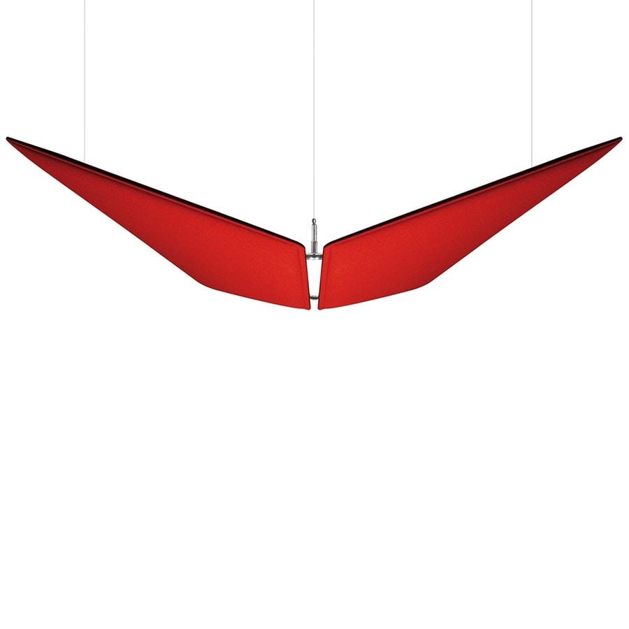 V-Flap, Paneles fonoabsorbentes elegantes