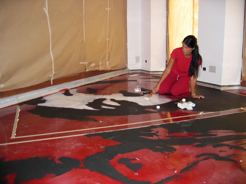 Artistic resin floors, Suelo artístico en resina, para los restaurantes originales