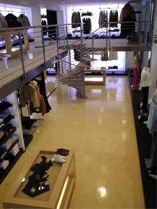 Epoxy floors for stores, Suelo de resina elegante, para centros comerciales