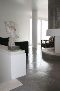 Rendered concrete resin floors, Suelo de resina, para oficinas