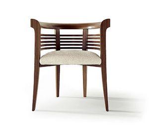 PO79 Dolfin sillón, Sillón de madera maciza