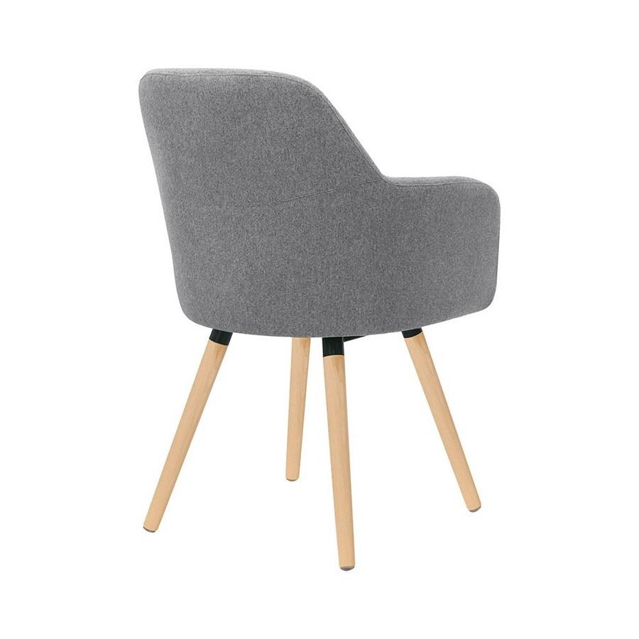 5331, Silla moderna con patas de madera
