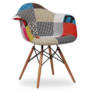 646 SMALL ARMCHAIR, Patchwork armchairs