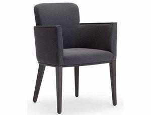 Ada-P2, Pequeño sillón en madera acolchada