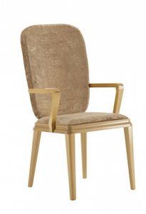 Art. VL141, La cabeza de la silla de la mesa, de madera, acolchada, para la sala de estar