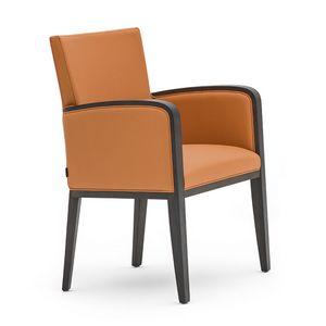 Logica 00931, Pequeño sillón ideal para hoteles y restaurantes