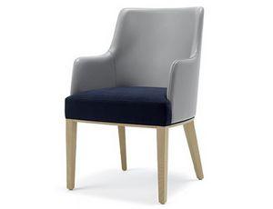 Tina-P1, Sillón acolchado con tapizado adaptable