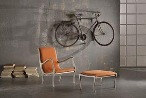 AMELIE sillón 8399A, Sillón clásico con acabados personalizables