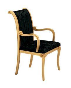 S13, Silla tapizada Classic, para salones refinados y restaurantes