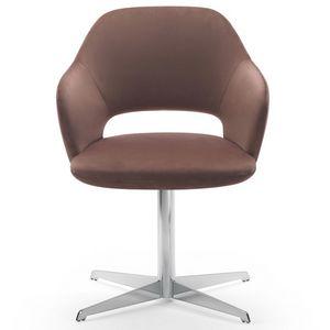Vivian armchair, Sillón con base giratoria