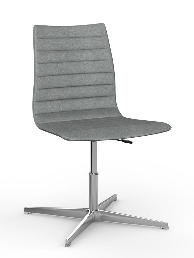 WOODY ELITE, Silla apilable que puede equiparse con la tableta de la escritura, refinado diseño italiano, para salas de conferencias y oficinas