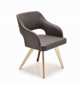 Adria silla, Sabor de cosecha silla, con acabado personalizable