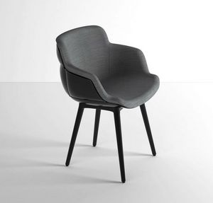 Choppy Sleek BP, Sillón lounge en acero polímero