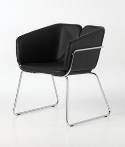 Mixx sled, Butaca moderna, cómoda y versátil, para oficinas, hoteles y restaurantes