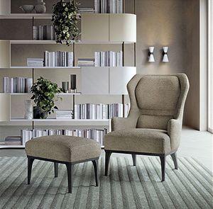 PO71 sillón, Sillón Relax con respaldo alto