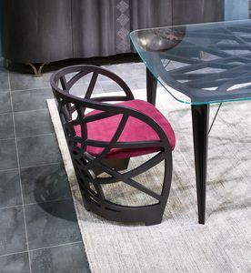 SE54 Galileo silla, Sillón con estructura de roble