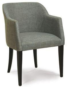 Verona P, Pintado sillón de madera, muebles de espera