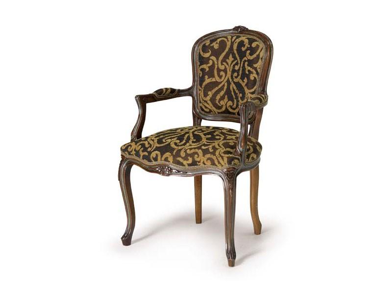 Art.109 armchair, Sillón de madera, de estilo Luis XV