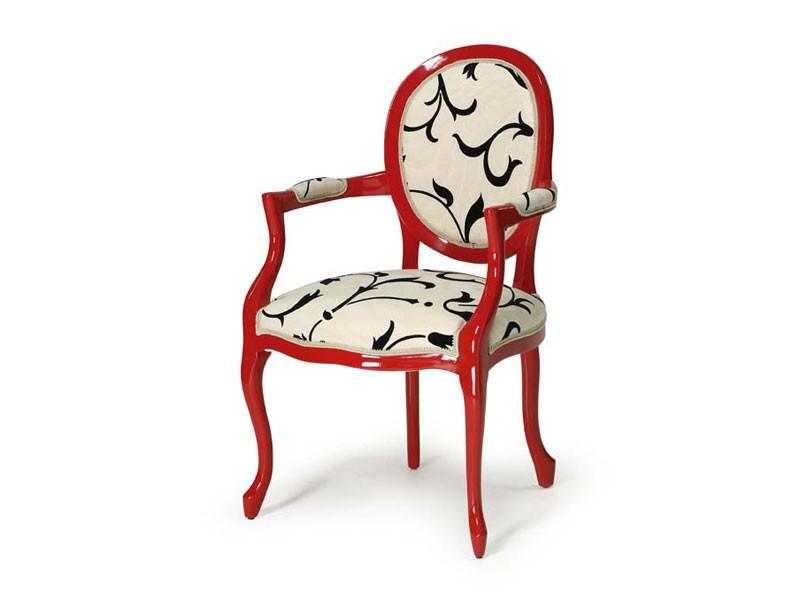 Art.418 armchair, Silla de estilo clásico, para hoteles y restaurantes