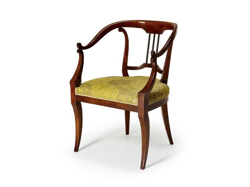Art.482 armchair, Sillón de estilo clásico, para hoteles y restaurantes