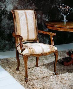 Regency sillas con reposabrazos, Silla de comedor con reposabrazos