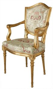 SILLA ART. SD 0003, La cabeza de la silla de mesa de estilo veneciano, acolchado