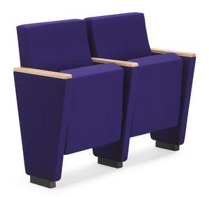 ARAN 580, Butaca de auditorio con asiento plegable