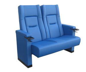 Comfort Rimini love seat, Cines sillón tapizado de poliuretano