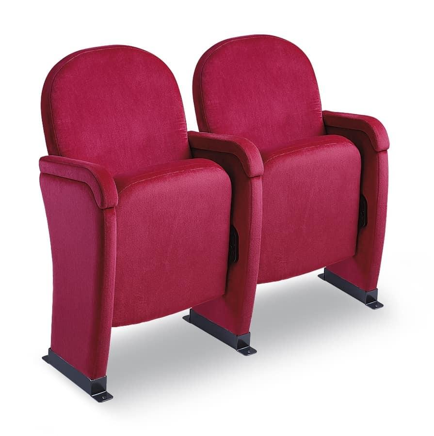 Giada Napoli, Silla con asiento plegable para salas de teatro