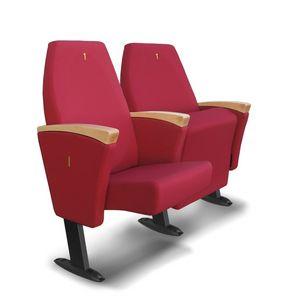 Gonzaga G, Sillones con asientos plegables adecuadas para salas de conferencia
