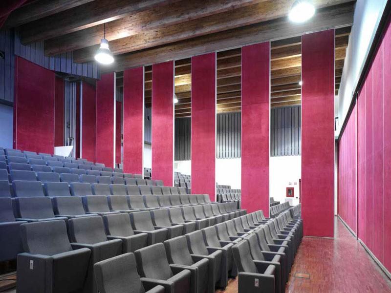 Gonzaga, Sillones de teatro contra incendios con un alto confort y diseño